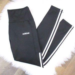 🆕 Adidas black 7/8-length high-waist leggings